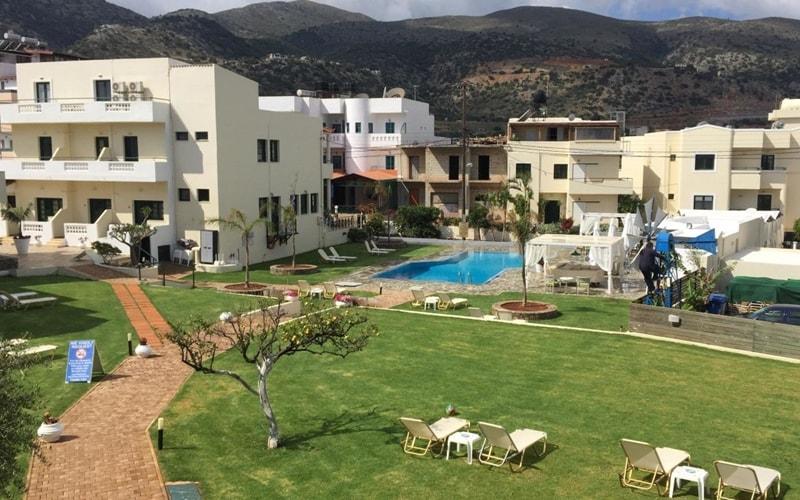 Kristalli Hotel Apartments Kreta