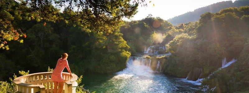 Krka Nationalpark Wanderung