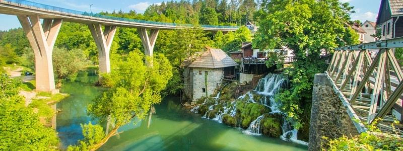 Kroatien Wasserfälle Geheimtipp