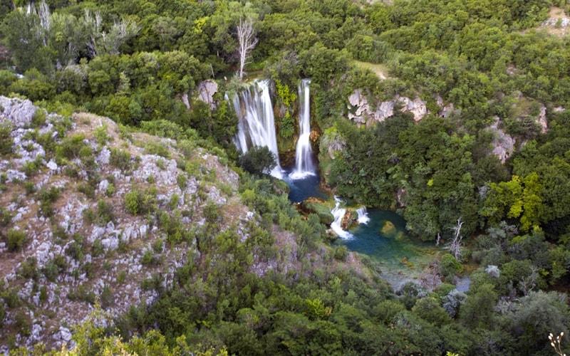 Manoljovack Wasserfall Kroatien