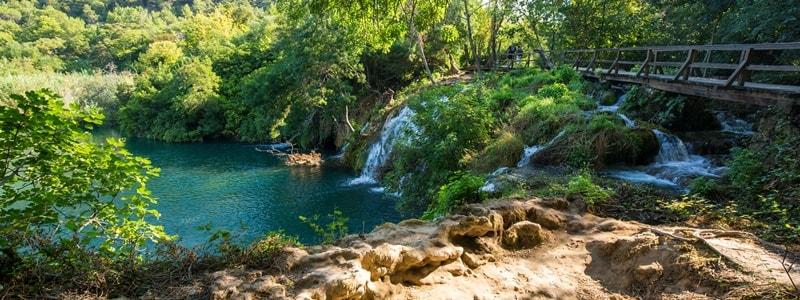 Nationalpark Krka Wasserfälle Kroatien