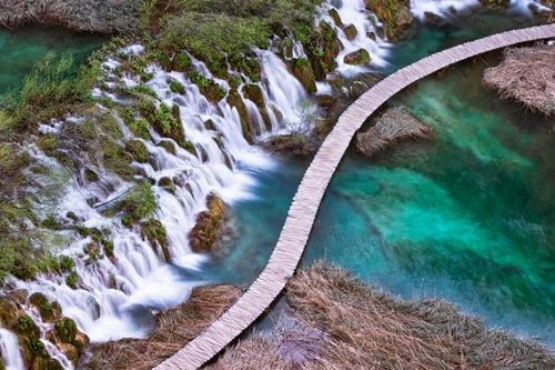 Nationalpark Kroatien Wasser