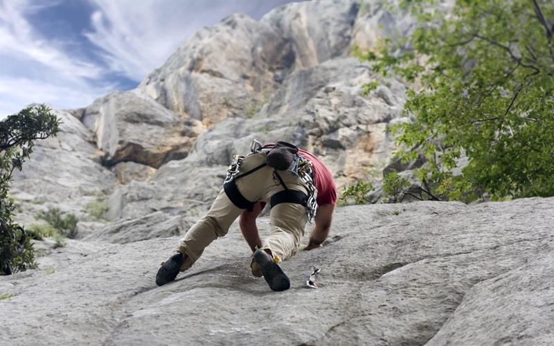 Paklenica Nationalpark klettern
