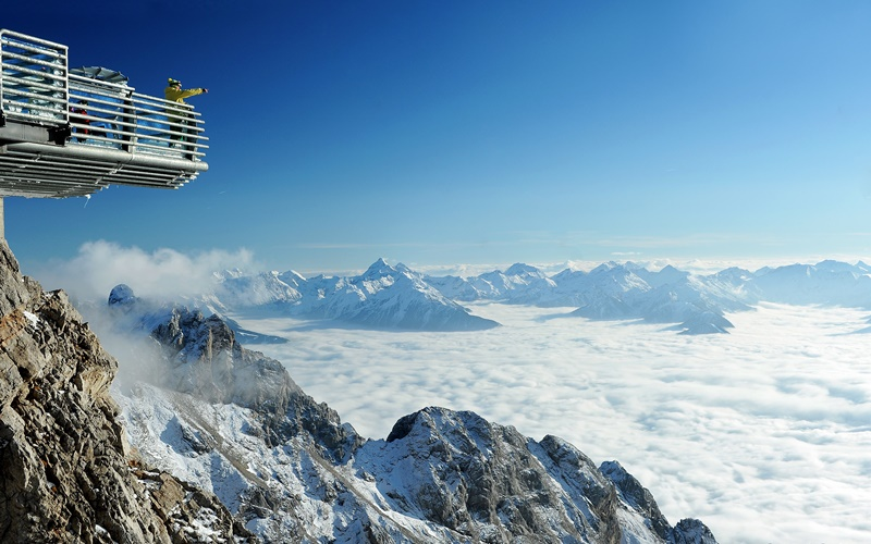 Dachstein Skywalk Gletscher Österreich
