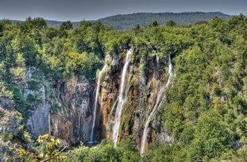 Plitvicer Seen Kroatien Veliki Slap