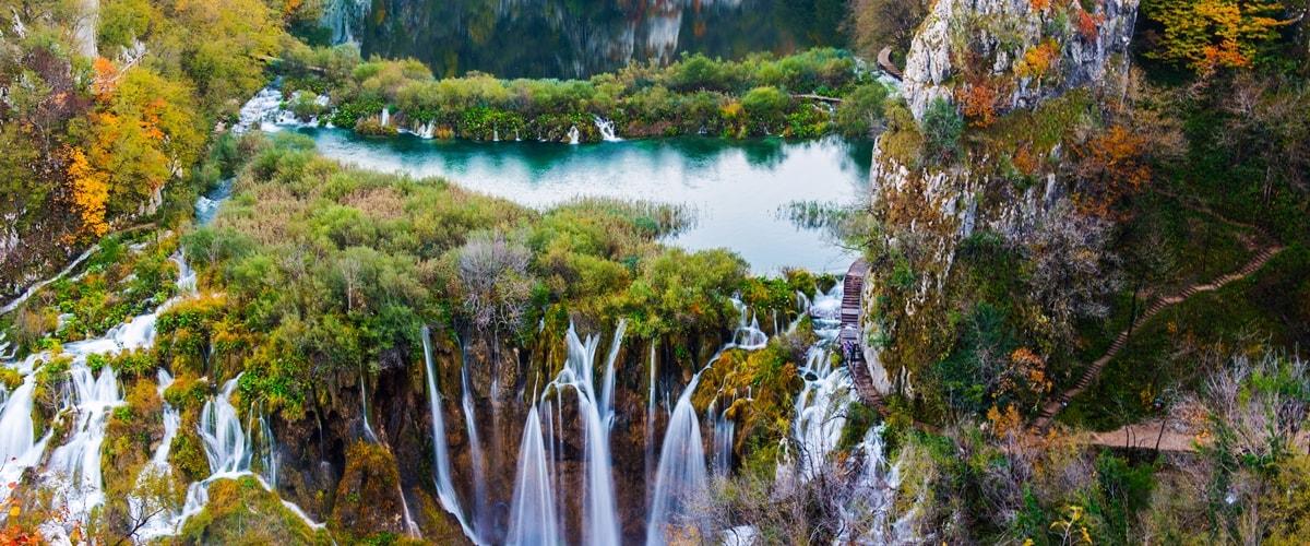 Nationalpark Plitvicer Seen Karte.Plitvicer Seen Grosster Nationalpark In Kroatien Uberblick