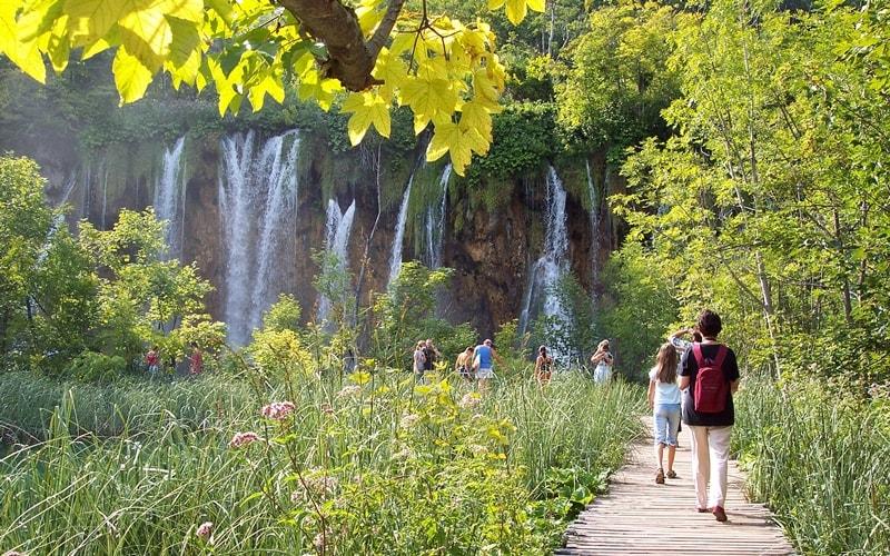 Plitvicer Seen wandern