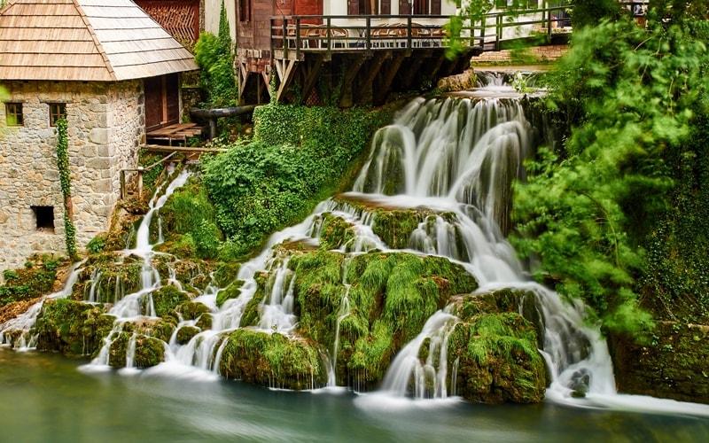Rastoke Wasserfall Kroatien