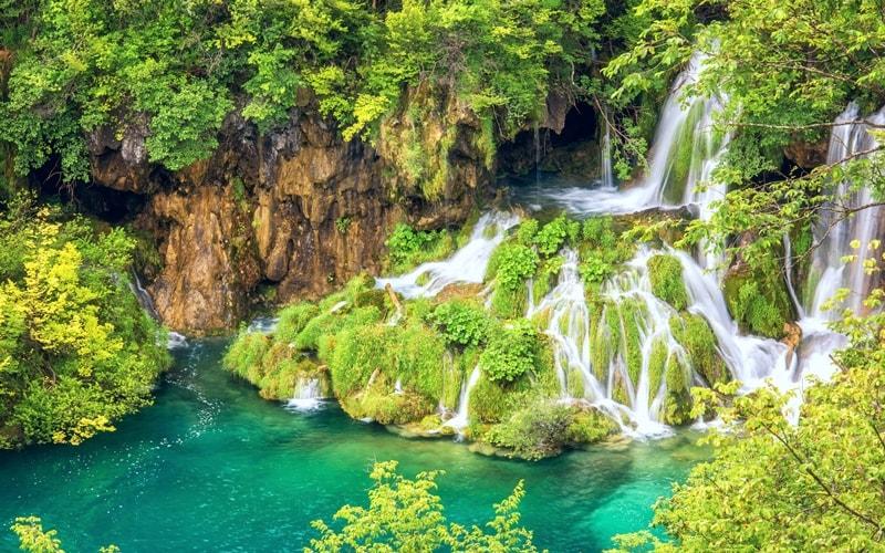 Sehenswürdigkeiten PLitvicer Seen Kroatien