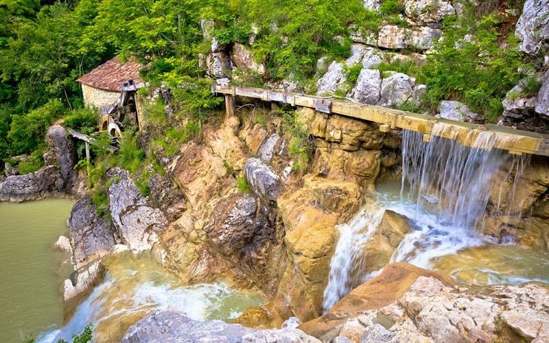 Wasserfälle Kroatien Istrien