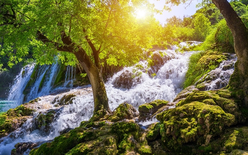 Wasserfälle Kroatien Krka Nationalpark