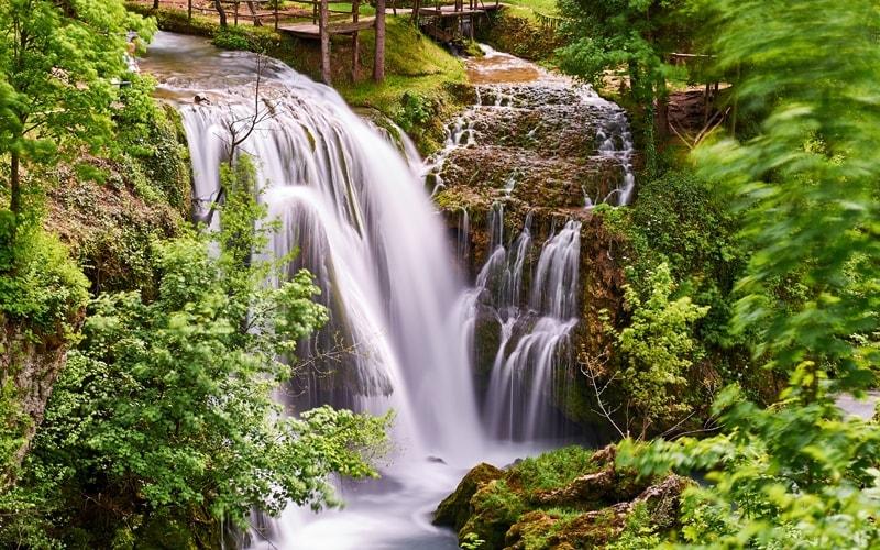 Wasserfälle Kroatien Slunj