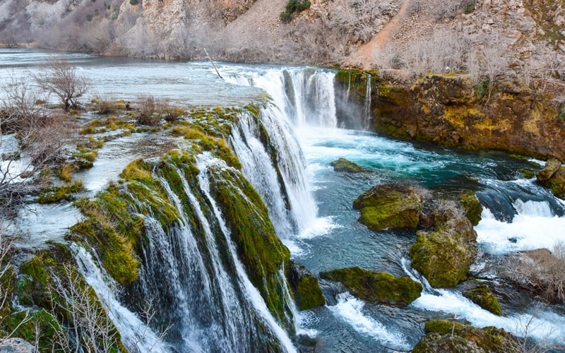 Wasserfälle Kroatien Zrmanja