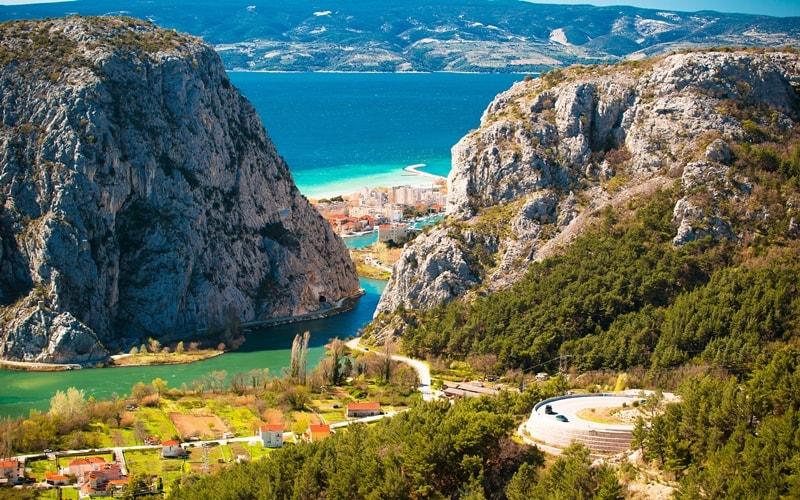 Wasserfall Kroatien Split