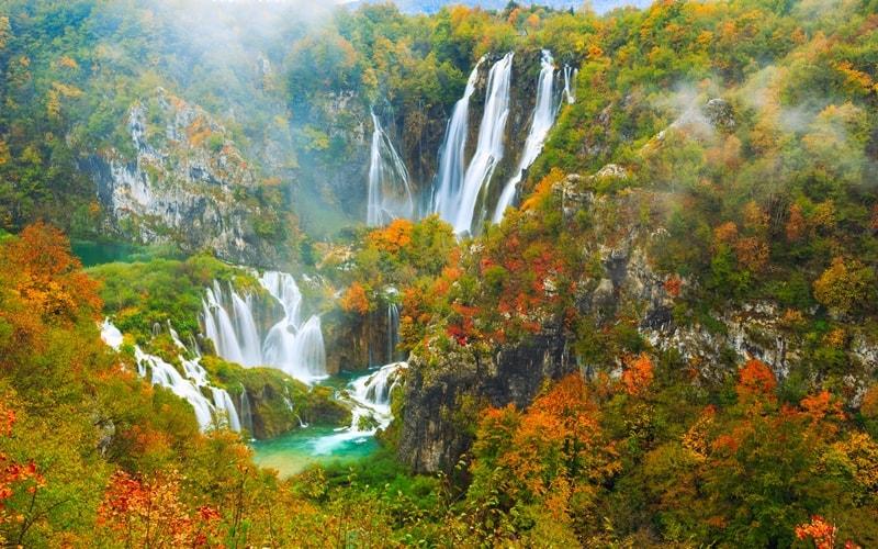 großer Wasserfall nationalpark pltvicer seen