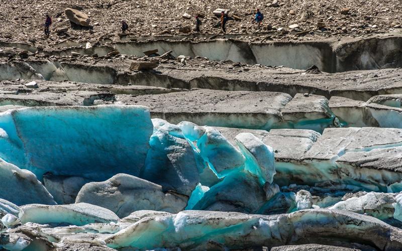 mölltaler gletscher Eis Gletscher