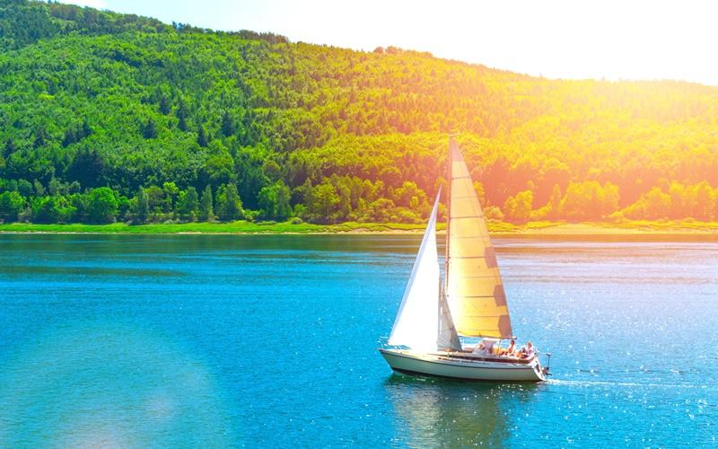 segeln see schönste seen österreich