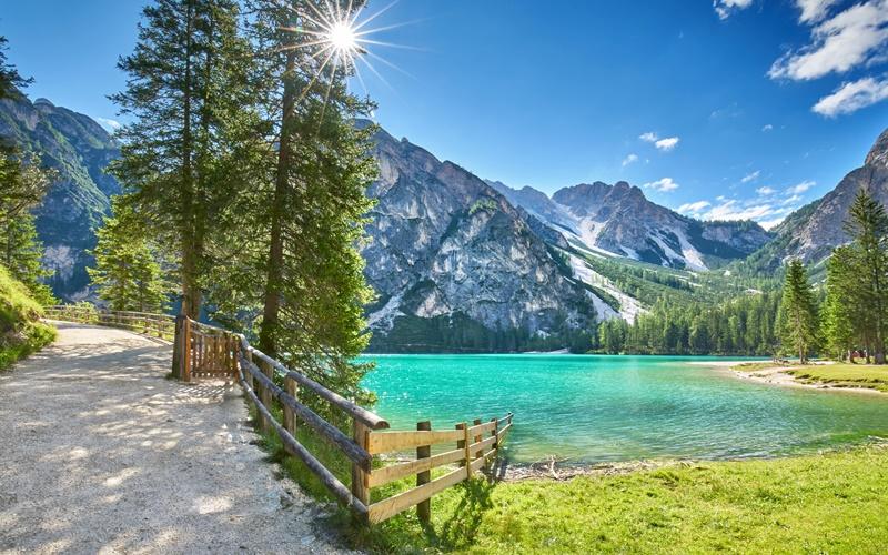 wandern see urlaub österreich see