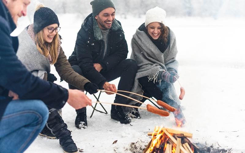 wintercamping österreich campingplatz winter