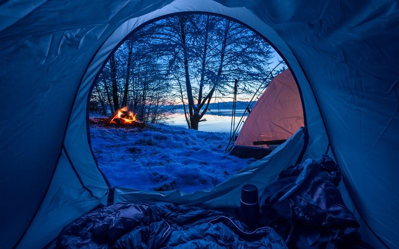 wintercamping österreich winter camping