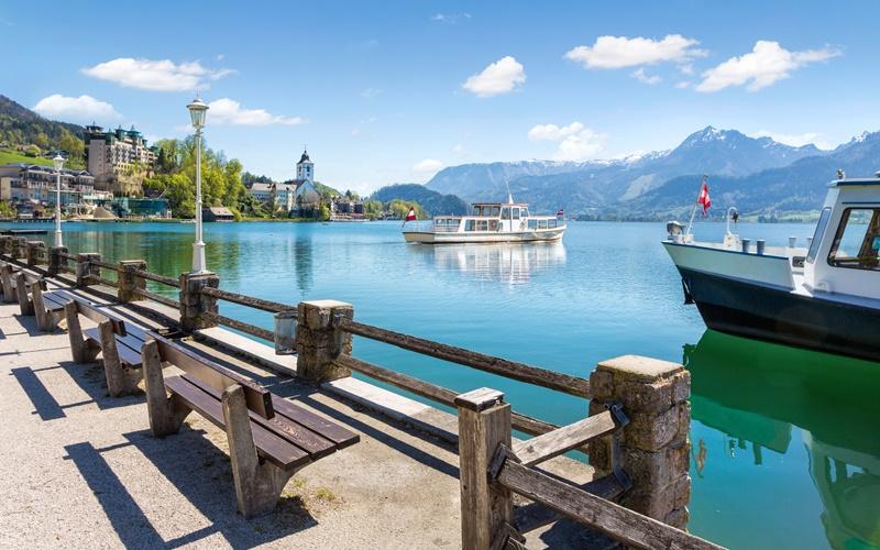 wolfgangsee urlaub see österreich