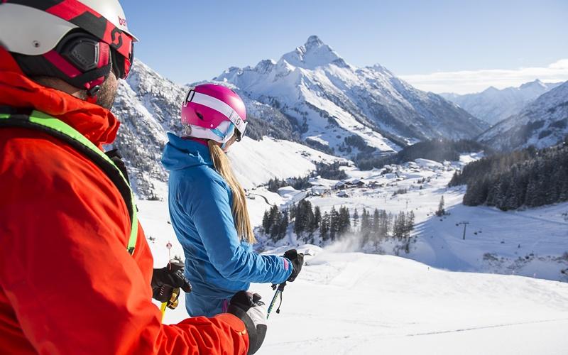 familien skigebiete schneesicher österreich