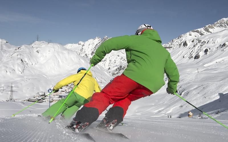 hohe skigebiete österreich