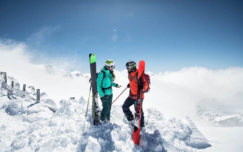 Gletscher Ski Österreich