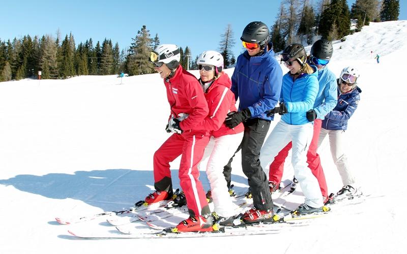 skigebiete österreich anfänger