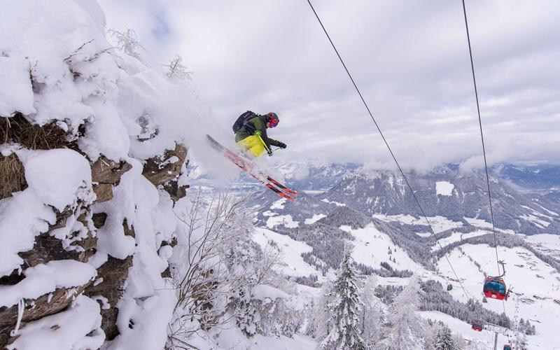 skigebiet familien österreich
