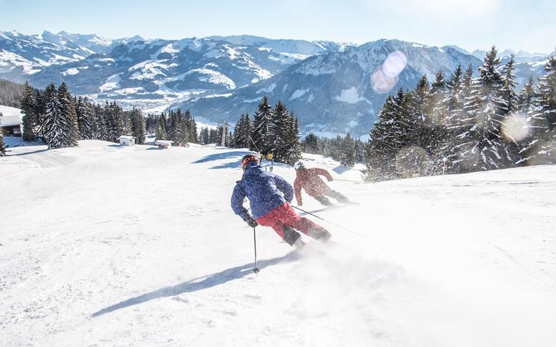 österreich karte skigebiete
