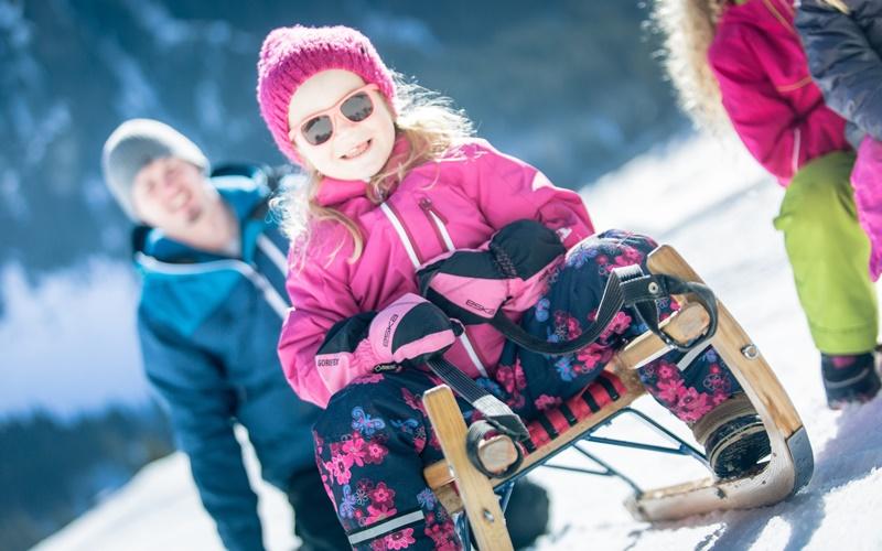 skigebiete österreich kinder