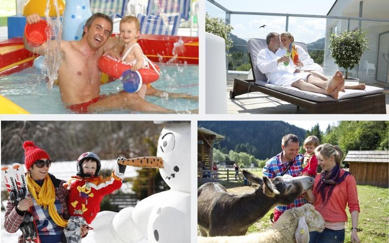Österreich Kinderhotel sommer