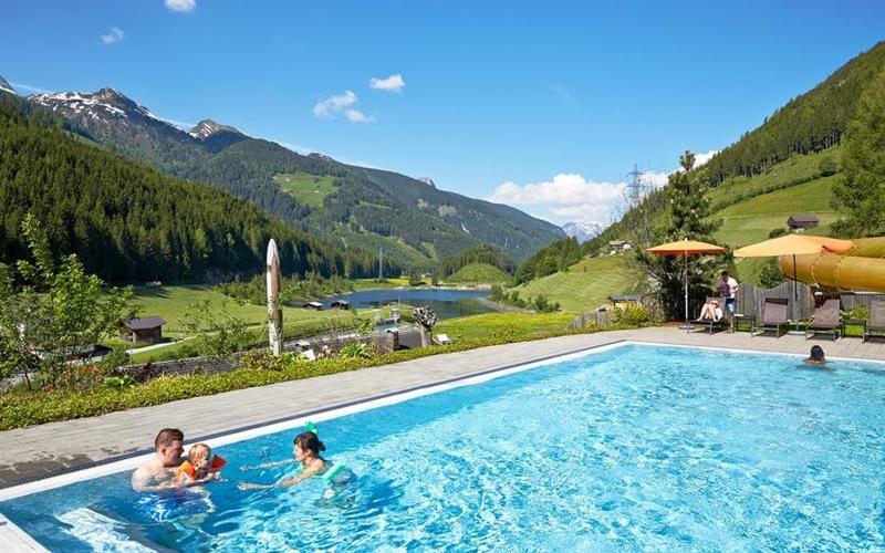 Almhof Family Resort pool