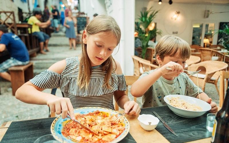 Apulien Urlaub Kinder Verpflegung