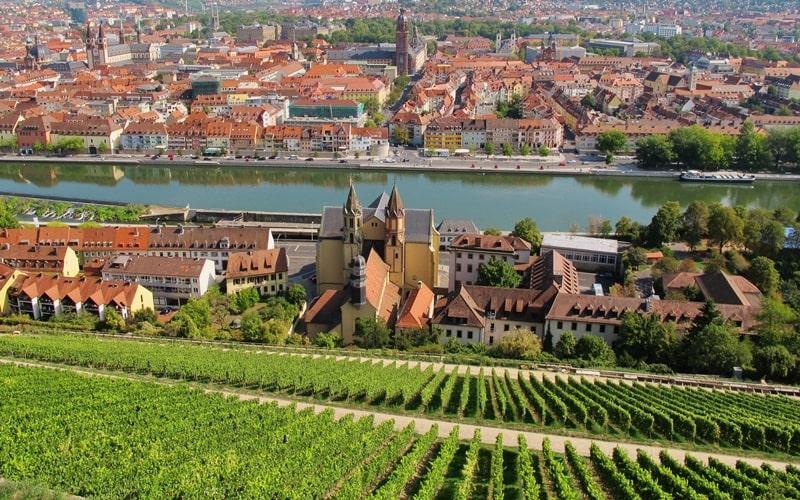 Blick von der Festung Marienberg