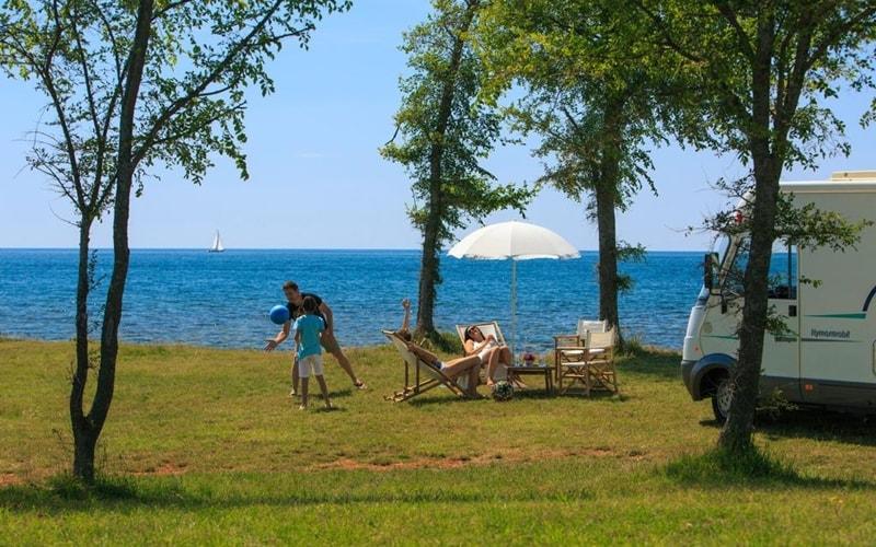 Campingplätze Kroatien Camping Park Umag Wohnmobil