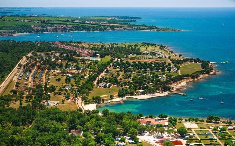 Campingplätze Kroatien Camping Park Umag