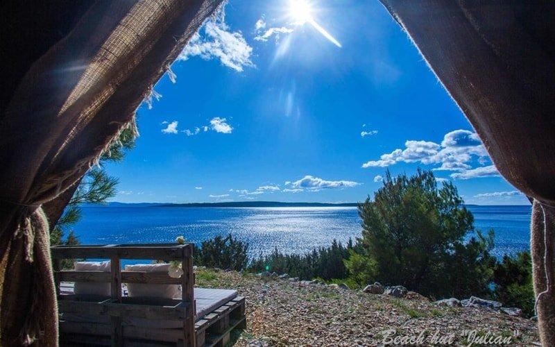 Campingplätze Kroatien Cast Away Aussicht