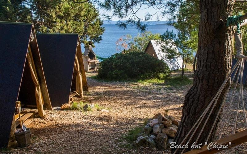 Campingplätze Kroatien Cast Away Zelte