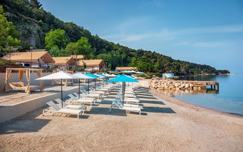 Campingplätze Kroatien Lanterna Premium Camping Porec Strand