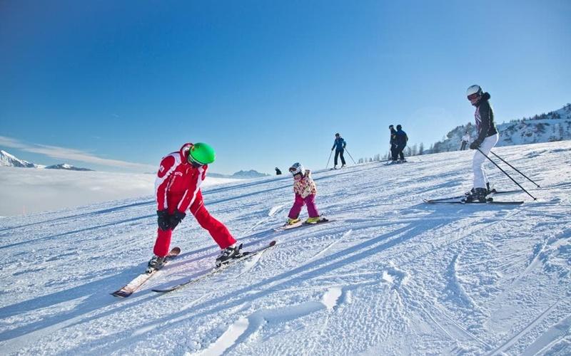 Chalets Alpegg skihütte österreich piste