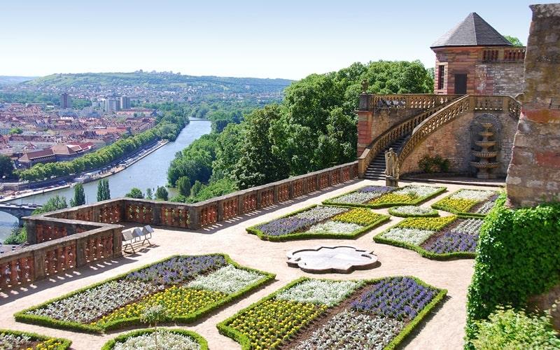 Garten Festung Marienberg Würzburg