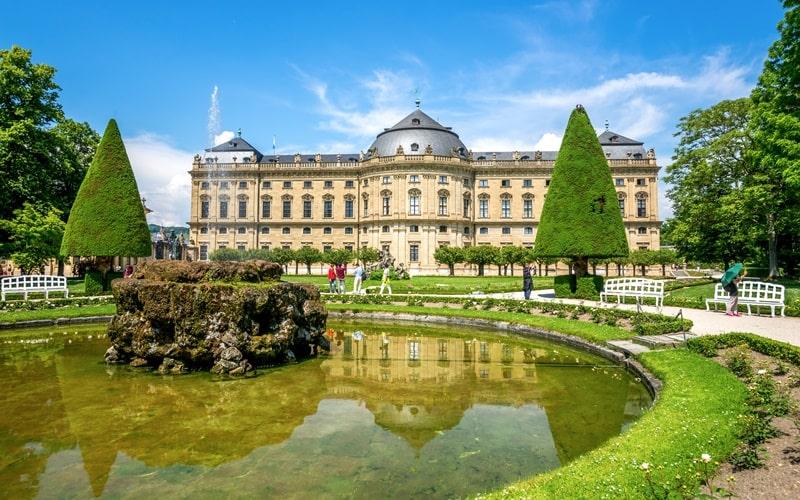 Hofgarten Residenz Würzburg