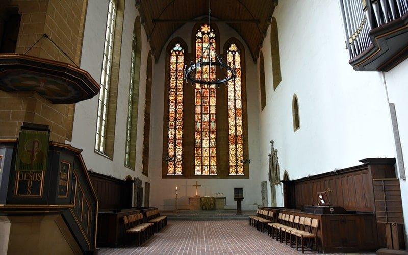 Kirchenfenster Augustinerkloster
