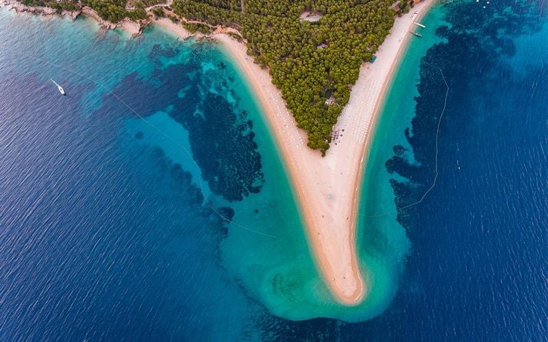 Klima Kroatien Brac
