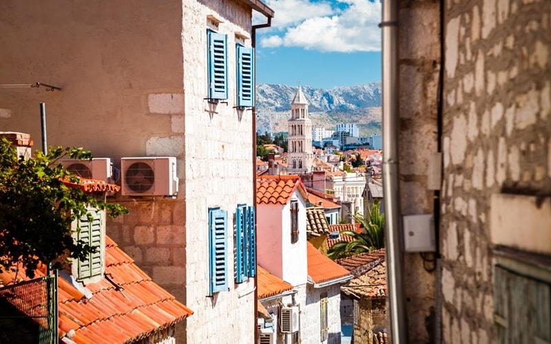 Klima Kroatien Split