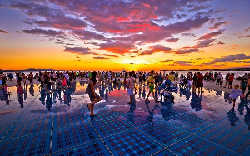 Klima Kroatien Zadar