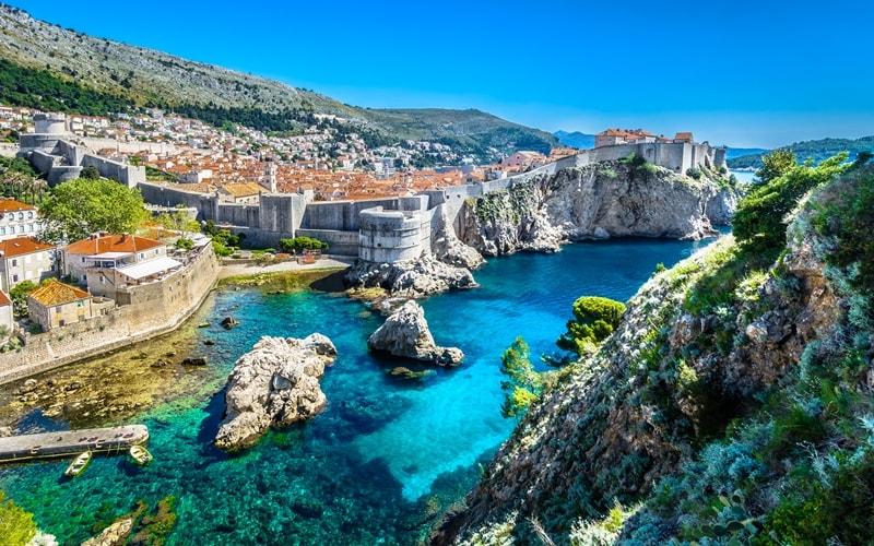 Kroatien Regionen Dubrovnik