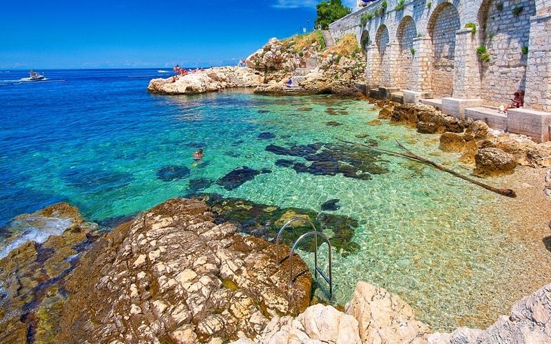 Kroatien Städte Rovinj Strände